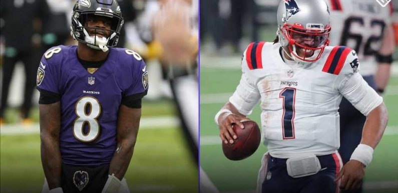 Lamar Jackson chasing 'Superman' Cam Newton for most rushing TDs as a quarterback