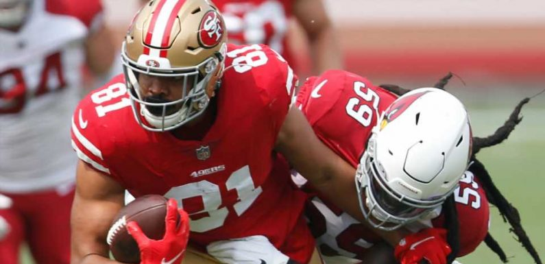 Is Jordan Reed playing Thursday night? Fantasy injury update for Packers-49ers