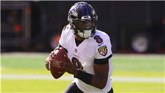 Lamar Jackson brushes against haunting narrative in Ravens-Titans playoff rematch