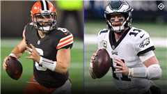NFL Week 11 Weather Updates: Rain for Eagles-Browns could affect fantasy start 'em, sit 'em decisions
