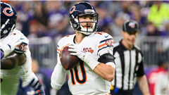 What happened to Mitchell Trubisky? Fluke shoulder injury keeps Bears backup out for Week 10