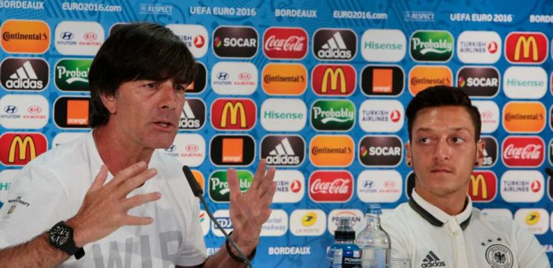 Mesut Ozil aims dig at Germany coach Joachim Low over Jerome Boateng omission