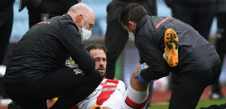 Danny Ings set for surgery and four to six weeks out in injury blow to Southampton