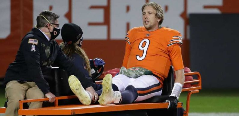 Nick Foles injury update: Bears QB expected to be OK after being carted off Monday night