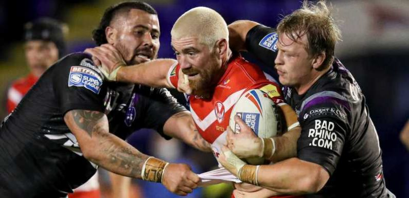 Kyle Amor: St Helens prop signs contract extension until end of 2021 season