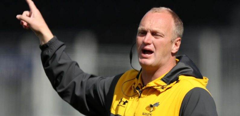 Wasps head coach Lee Blackett signs contract extension with Premiership club