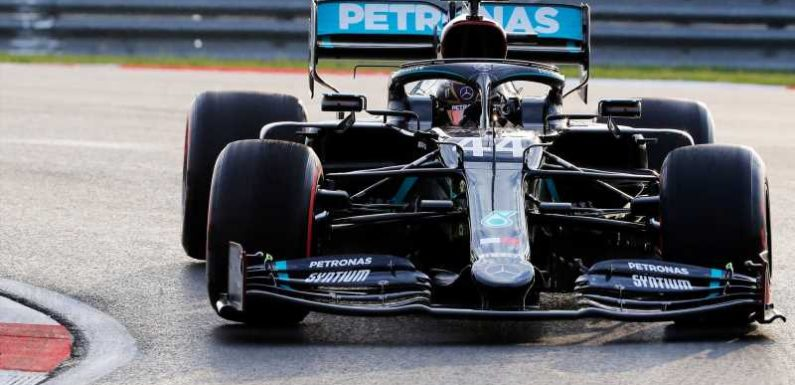 Lewis Hamilton on 'terrifying' slippery Turkish GP track as drivers react to 'ice rink'