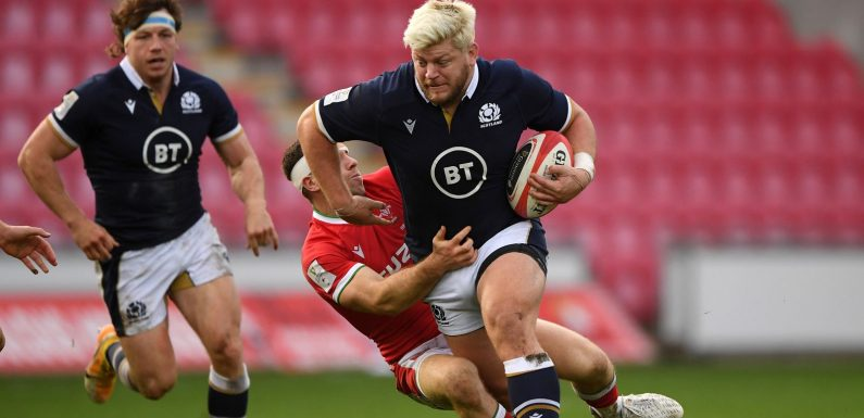 Autumn Nations Cup: Scotland make five changes for France clash