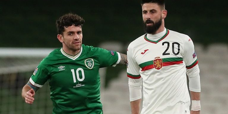 Republic of Ireland 0-0 Bulgaria: Stephen Kenny's side survive Nations League relegation as goal drought continues