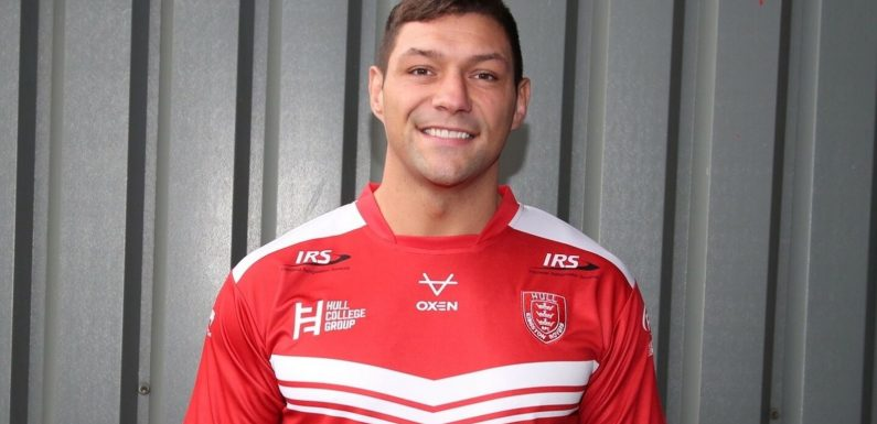 Ryan Hall returns to Super League with Hull Kingston Rovers