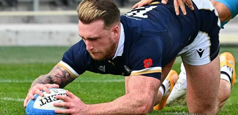 Autumn Nations Cup: Stuart Hogg reveals Gregor Townsend's telling-off fired up Scotland