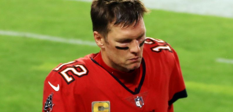 What went wrong for Tom Brady and the Tampa Bay Buccaneers in Week Nine against the New Orleans Saints?