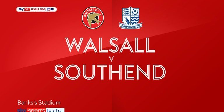 Walsall 0-1 Southend: Shrimpers finally claim first win