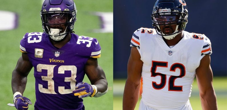 What to watch for in Vikings-Bears on 'Monday Night Football'