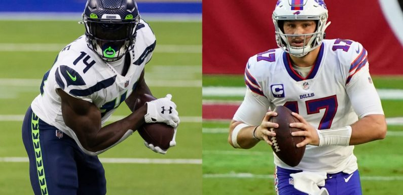 Picking first-time Pro Bowlers: DK Metcalf, Josh Allen shine