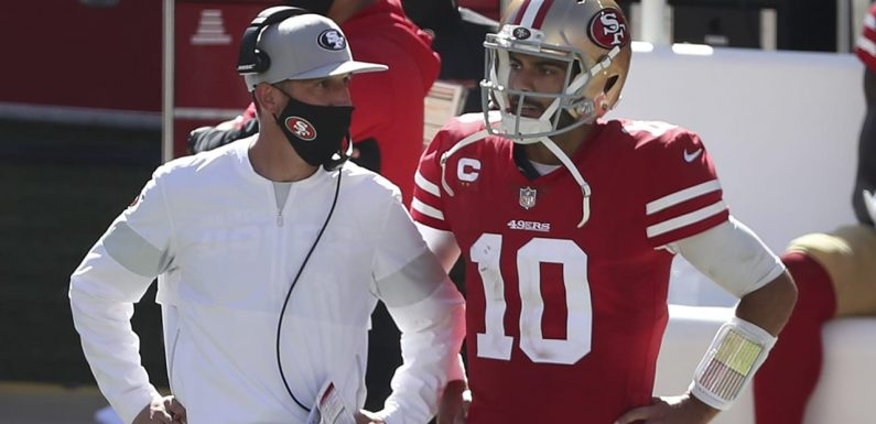 Kyle Shanahan expects Jimmy Garoppolo 'to be our starter next year'