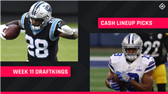 Week 11 DraftKings Picks: NFL DFS lineup advice for daily fantasy football cash games