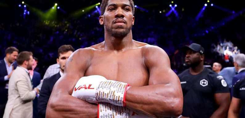 Anthony Joshua refusing to be distracted by Tyson Fury ahead of Kubrat Pulev