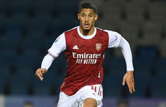 William Saliba's transfer preference as Arsenal legend offers lifeline