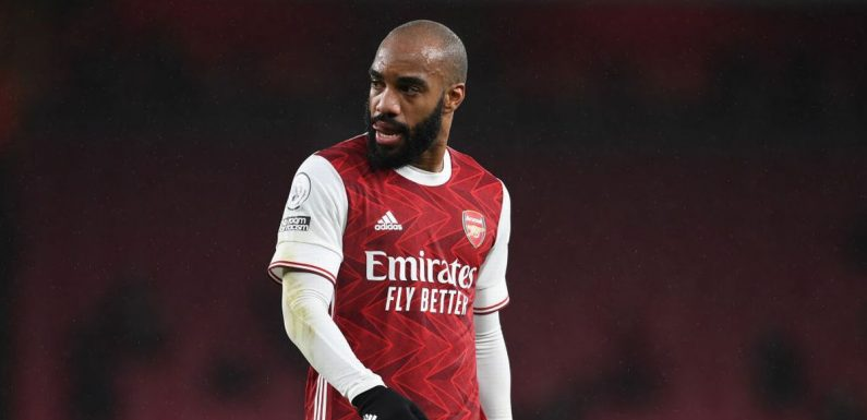 Arsenal have two attacking transfer targets due to 'doubts' over Lacazette