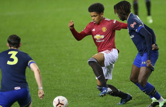 Man Utd fans convinced 16-year-old academy star is the real deal after U23 win