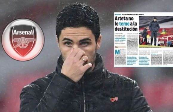 Arsenal boss Mikel Arteta 'starting to lose credit at Emirates' after Wolves defeat