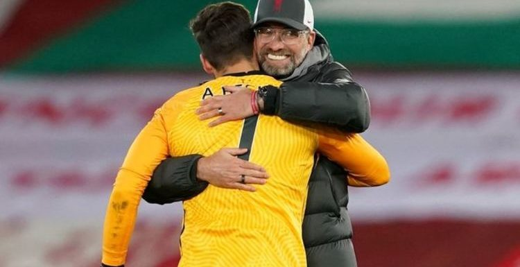 Liverpool team news: Expected 4-3-3 line up vs Fulham as Alisson one of eight changes