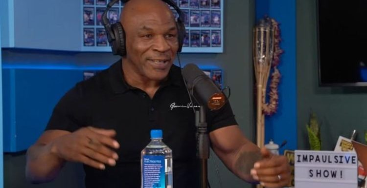 Mike Tyson trolls Logan Paul to his face ahead of Floyd Mayweather fight