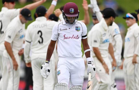 Cricket: Black Caps set for dominant victory over West Indies after bowlers shine