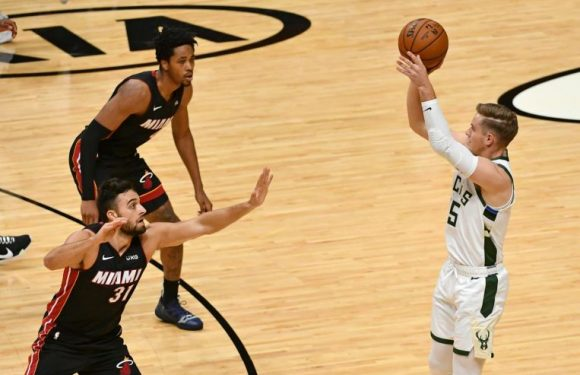 NBA: Bucks set new record with 29 treys in rout of Heat
