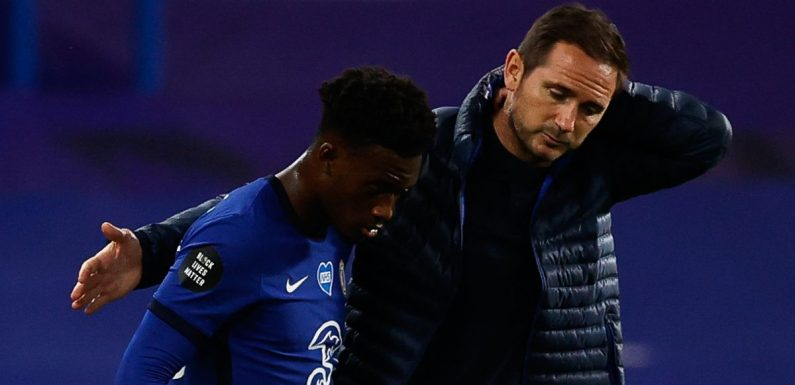 Frank Lampard defiant after conversations with Hudson-Odoi over Chelsea axe