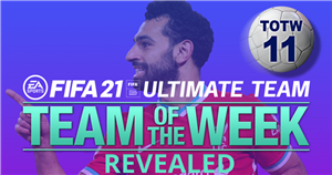 FIFA 21 TOTW 11 squad released with Paul Pogba, Heung-Min Son and Mohamed Salah