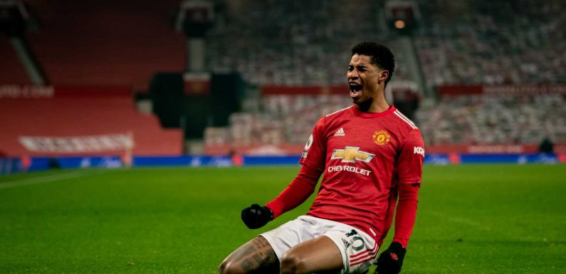 Marcus Rashford's late strike breaks Wolves to send Manchester United second in Premier League