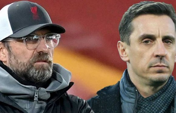 Klopp aims blunt dig at Neville after being accused of trying to gain advantage