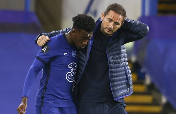 It was difficult to leave Hudson-Odoi out against Spurs, says Lampard