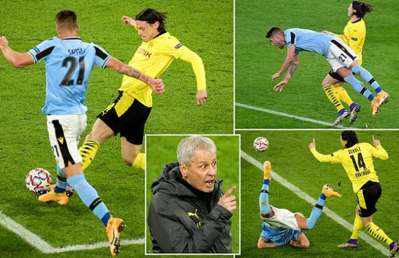 Lucien Favre blasts Sergej Milinkovic-Savic for diving