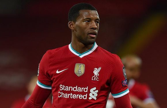 Wijnaldum admits Liverpool stars have 'little time for training'