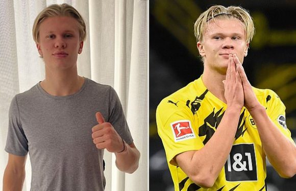 Haaland vows he will be 'back soon' for Dortmund after hamstring tear