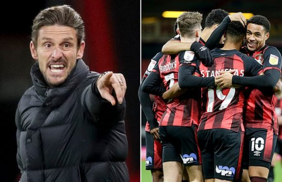 Jason Tindall has Bournemouth flying in the Championship