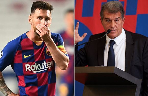 Barca presidential candidate says club has cheated Messi