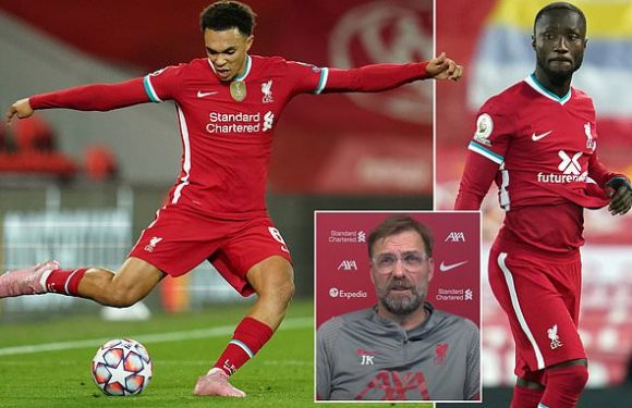 Klopp says Alexander-Arnold and Keita could be fit for Wolves game