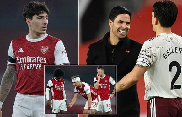 Bellerin hits out at critics of under pressure Arsenal boss Arteta