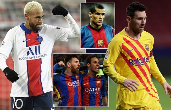 Neymar may already know PSG plan to sign Lionel Messi, claims Rivaldo