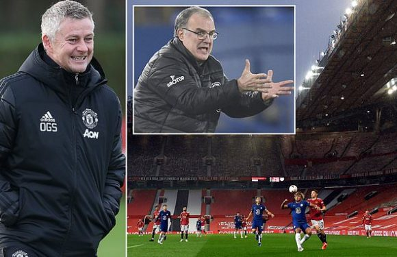 Man United unveil plans for 2,000 fans to return for Leeds clash
