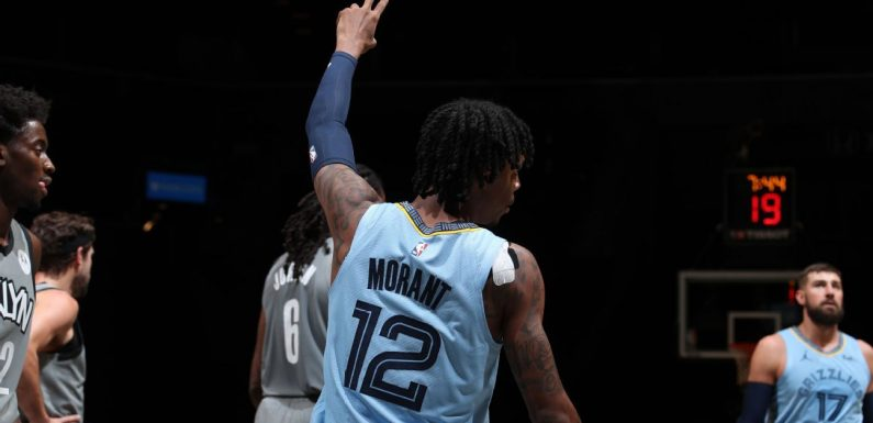 How Ja Morant's injury affects the Grizzlies and the West playoff race