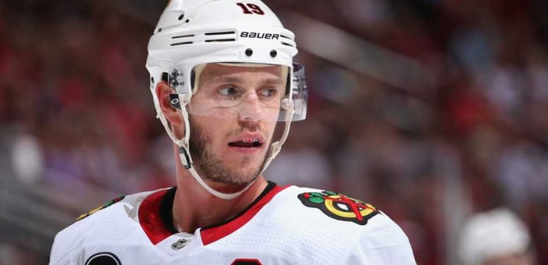 Jonathan Toews injury update: Blackhawks captain out indefinitely with 'medical issue'