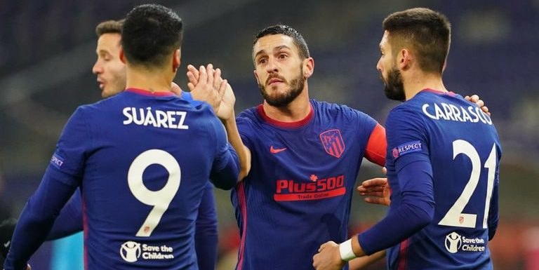 Champions League round-up: Atletico Madrid, Atalanta reach knockout stages