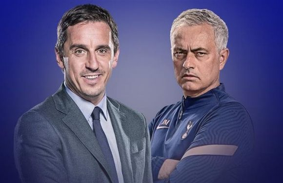 Jose Mourinho has evolved an old tactic in bid to win Premier League title at Tottenham, says Gary Neville