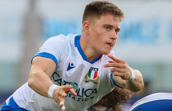 Stephen Varney: Wales-born scrum-half to make full Italy debut against country of his birth
