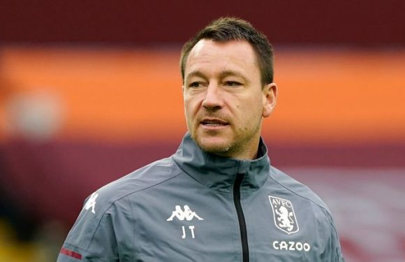 John Terry: Aston Villa assistant among frontrunners for Derby job after takeover